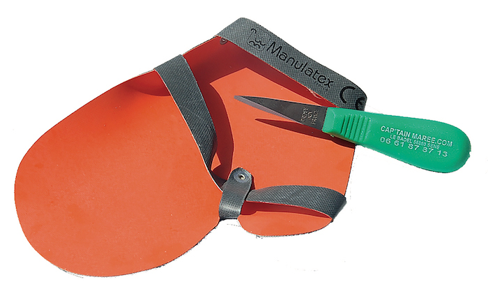 gant de protection - gant huitres - captain maree - manulatex